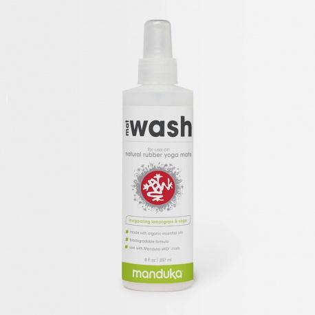Manduka Mat Wash Spray - For Natural Rubber Mats 239ml Lemongrass, Sage