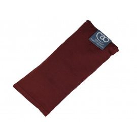 Organic Cotton Lavender Eye Pillow - Burgundy