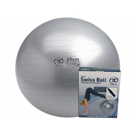 125kg Anti Burst Swiss Ball 65cm Pump Varsana