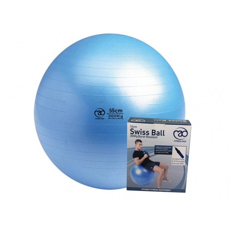 Yoga Ball 55 Cm Met Pomp En Dvd Varsana Yogawinkel Amsterdam