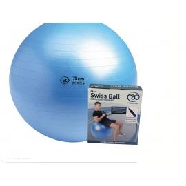 Yoga Ball 75 cm met pomp en DVD