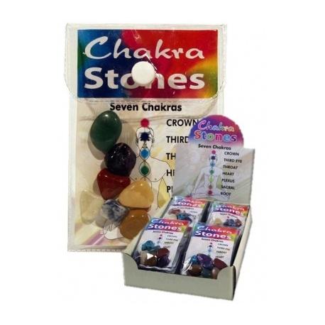 7 Chakra Stenen Set